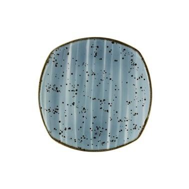 Kütahya Porselen Atlantis Lapis 17 Cm Servis Tabak Mavi Renkli